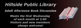 Adult Afternoon Book Discussion